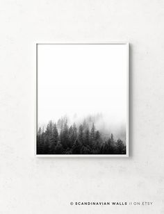 Digital Download Art // FOREST  Welcome to SCANDINAVIAN WALLS!  50% OFF! When you buy 4 Prints! Select 4 prints in your cart - pay only for 2! - Insert code: SEPTEMBER in the Apply shop coupon codes field - and get 2 free prints!  ↓ See info about and sizes included in this print, by clicking +More  Print out the art on your printer at home, or use a local or online printshop, and decorate your walls in the minimalistic style Scandinavia is known for. It is a unique, beautiful, easy...