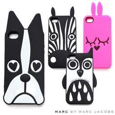 Funda Marc Jacobs 3d Iphone 6s 6s Plus Bulldog Cebra Buho - $ 219,99 en Mercado Libre