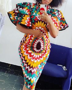 nigerian dress styles Most stylish collection of ankara short gown styles of 2019 trending today, try these short ankara gown styles Nigerian Dress Styles, Short African Dresses, Ankara Short Gown Styles, African Inspired Fashion, Latest African Fashion Dresses, African Print Dresses, African Print Fashion, Africa Fashion, African Print Dress Designs