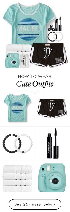 """Cute Outfit♡"" by bekah-04 on Polyvore featuring Aéropostale, Lokai, Christy, Hollister Co., Fujifilm and Edward Bess"