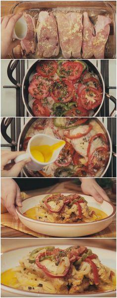 Minha tia me ensinou essa receita de Moqueca de Peixe super DELICIOSA, virou o prato favorito de todos na minha casa! Melhor ainda que é bem simples e fácil de fazer... #moqueca #moquecadepeixe