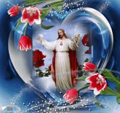 I love my Jesus pictures Star sink Jesus Christ Images, Pictures Of Christ, Jesus Art, Religious Pictures, Miséricorde Divine, Divine Mercy, Good Night Gif, Good Morning Gif, Jesus Our Savior