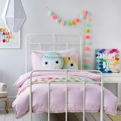 Adairs Kids Vintage Cotton Lace Quilt Cover Set, Kids bedroom accessories, Kids bedlinen from Adairs
