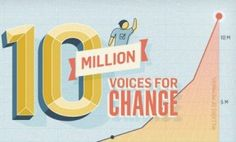 """Change.org Hits 10 Million Members, Now The """"Fastest-Growing Social Action Platform On The Web,"""" by Frederic Lardinois, on TechCrunch.com"""