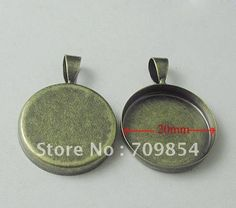 Aliexpress.com : Buy free shipping!!! 100pcs/lot 20*20mm round antique bronze pendant tray setting with glass cabochon jewelry findings from Reliable pendant tray suppliers on Beijing Star Jewelery Co.,Ltd