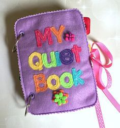 Quiet Book starter kit Busy Book Pre School Learning