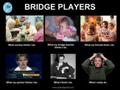 Image result for card players bridge