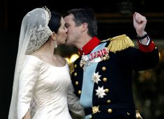 Crown Princess Mary and Prince Frederik of Denmark