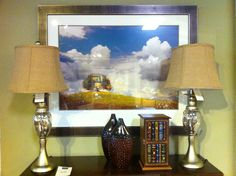 Barcelos table lamps, art by Picture Source