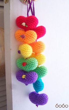 1000 images about crochet moviles on pinterest crochet - Cortinas colgantes ...
