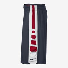 Nike Elite Stripe Men's Basketball Shorts. Nike Store