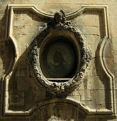 Sicilian wall detail