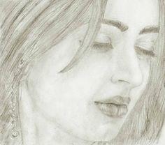 Bhumika Chawla's very pleasant pencil sketch.