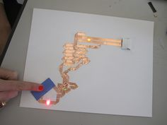 Paper circuit tutorial                                                                                                                                                                                 More