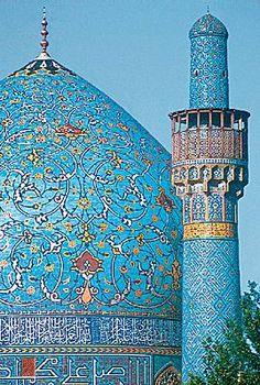 Ispahan, la Mosquée royale