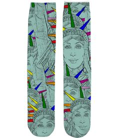 Funny, Gay, Tube Socks. Cher morphed into The Statue of Liberty!