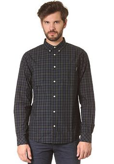 CARHARTT Sims L/S Shirt blue
