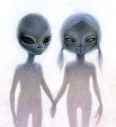 Perception Creates Reality – Pop Surrealism – New Contemporary – Big Eye Alien Art Aliens And Ufos, Ancient Aliens, Blood Pressure Remedies, Blood Pressure Symptoms, Indigo Spirit, Mode Bizarre, Dibujos Dark, Psy Art, Space Aliens