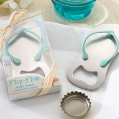 Wedding shower favors I found for a beach themed wedding shower.