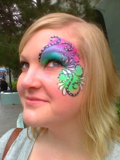 Girl Face Painting Designs | Beautiful Fairy Face Paint! | Let the Memories Begin | Disney Parks