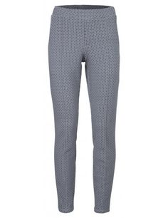 SCUBA PANTALON WITH PRINT - YAYA