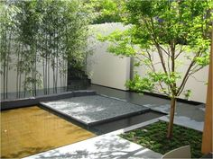Flooded courtyard, V. Sitta, esterni design partnership