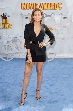 Jennifer Lopez at the MTV Movie Awards 2015: See the top 10 best dressed