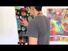 ▶Belinda Fireman Auction Painting Part 2 - YouTube