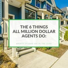Are you struggling in real estate? These are the things you need to focus on to have a healthy real estate business. I break down a core business model