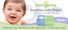 Great reusable cloth diapers