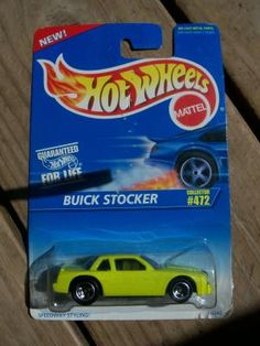HOT WHEELS 1996 COLLECTOR # 472 BUICK STOCKER   FREE SHIPPING!!