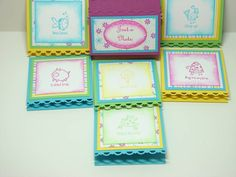 Very Punny 3x3 brights post it note holders