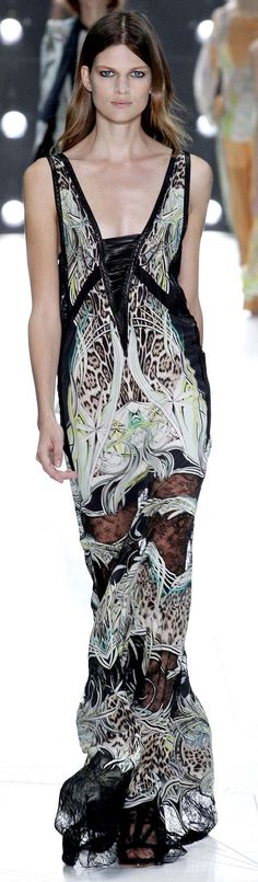#Roberto Cavalli Spring Summer 2013 Ready-To-Wear Collection