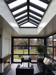 Pergola For Sale Lowes Key: 2423491972 Modern Interior Design, Interior Architecture, Roof Design, House Design, House Extension Design, Roof Lantern, Modern Tiny House, Glass Roof, House Extensions