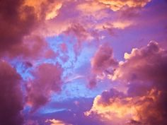 Maxfield Parrish Clouds | cotton candy-ish daydreaming clouds