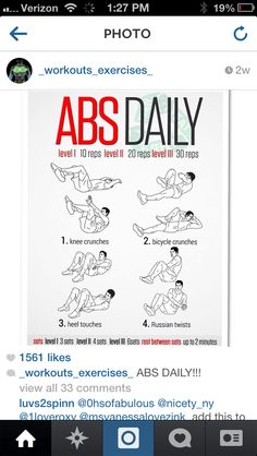 Abs daily