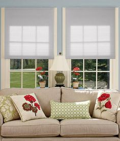 Cordless Cellular Shade - Grey/Taupe Was: $70.50                     Now: $20.99