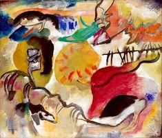 Wassily Wassilyevich Kandinsky (16 December 1866 – 13 December 1944) Improvisation 27 (Garden of Love II), 1912