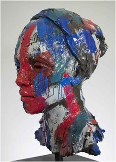An original sculpture by Lionel Smit entitled: 'MEDIUM MALAY GIRL', edition 8 of 1 2, resin and automotive paint, 95.89 c m For more please visit www.finearts.co.za