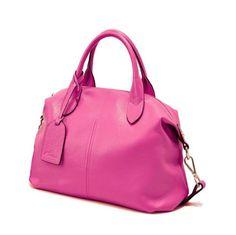 Dimphi - Soft Genuine Leather Lady Handbag