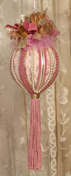 Are you planning to decorate your house on this Christmas with Victorian Christmas Decorations? Here you can go through a collection top Victorian Christmas Decorations, that [. Victorian Christmas Decorations, Beaded Christmas Ornaments, Shabby Chic Christmas, Noel Christmas, Pink Christmas, Beautiful Christmas, All Things Christmas, Christmas Mantels, Crochet Christmas
