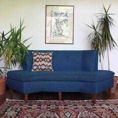 Mid-Century Settee now featured on Fab.