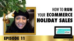 The holidays can be extremely busy for ecommerce store owners, especially if you're trying to keep track of your holiday promotions. I go over some very simple and easy things that you can do to help.