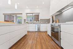 Experience the sleek sophistication of a designer kitchen by Creative Cabinets, with clean fingerpull cabinets. Custom Cabinets, Cabinet Design, Melbourne, Kitchen Design, Finger, Custom Design, New Homes, Kitchen Cabinets, Interiors
