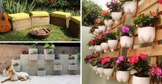 Quer idéias diferentes para decorar seu quintal? Que tal utilizar peças que seriam descartadas no lixo, como latas, garrafas pet, pedaços de madeira, panelas velhas? Existem várias maneiras de reutilizar …