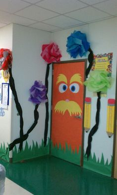 This entry is cute, wouldn't use the Lorax for VBS but like the idea.