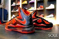 """Nike LeBron X - Miami Heat """"Away"""""""