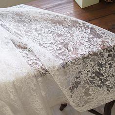 【Authentic Tulle】ラッセル編みのエレガントなチュールレース <Rosalie ロザリエ>