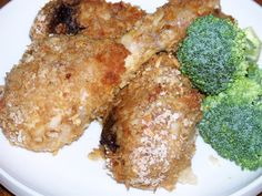 Crunchy Baked Panko Breaded Chicken Legs with Onion