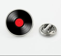 Vinyl Record Collar Pin  Price: 9.95 & FREE Shipping  #brooches Collar Pin, Women's Brooches, Vinyl Records, Free Shipping, Shopping, Necklaces